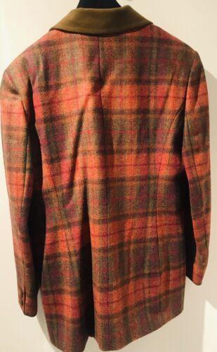 £ Us 265 Tartan Charles Nicholas Red 12 taglia Vintage 00 Gonna 8 Blazer r R p FqBORB6