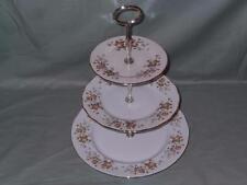 Colclough Avon Bone China 3-Tier Hostess Cake Plate Stand (V1)