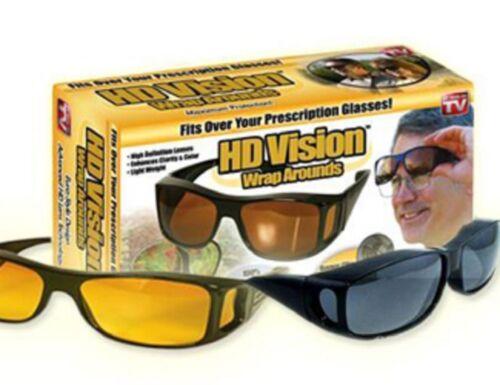 La envoltura real de conducción Visión nocturna Optic alternativas de soluciones sobre antirreflejo HD Gafas