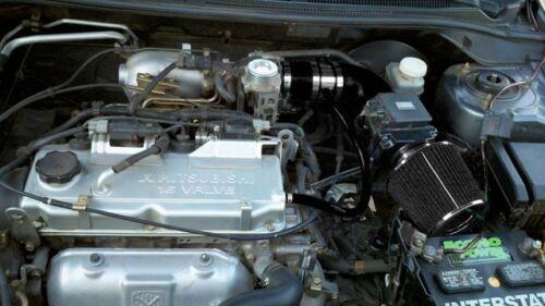 BCP BLACK 02-07 Mitsubishi Lancer 2.0L L4 Short Ram Air Intake Filter