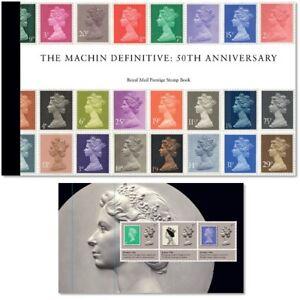 GB-2017-Machin-Definitive-50th-Anniv-Prestige-Stamp-Booklet-DY21-Unmounted-Mint