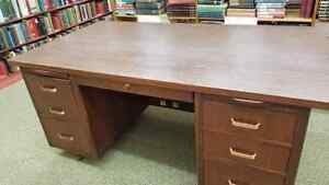 Image Is Loading Leopold Office Desk 1960 039 S Great Condition