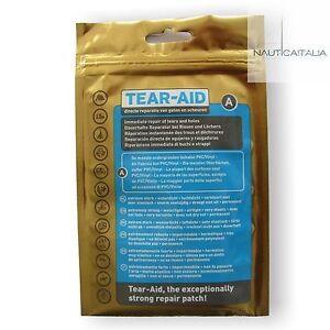 TEAR-AID-TIPO-A-KIT-RIPARAZIONE-GOMMONI-NEOPRENE-E-TESSUTI-NON-PER-PVC