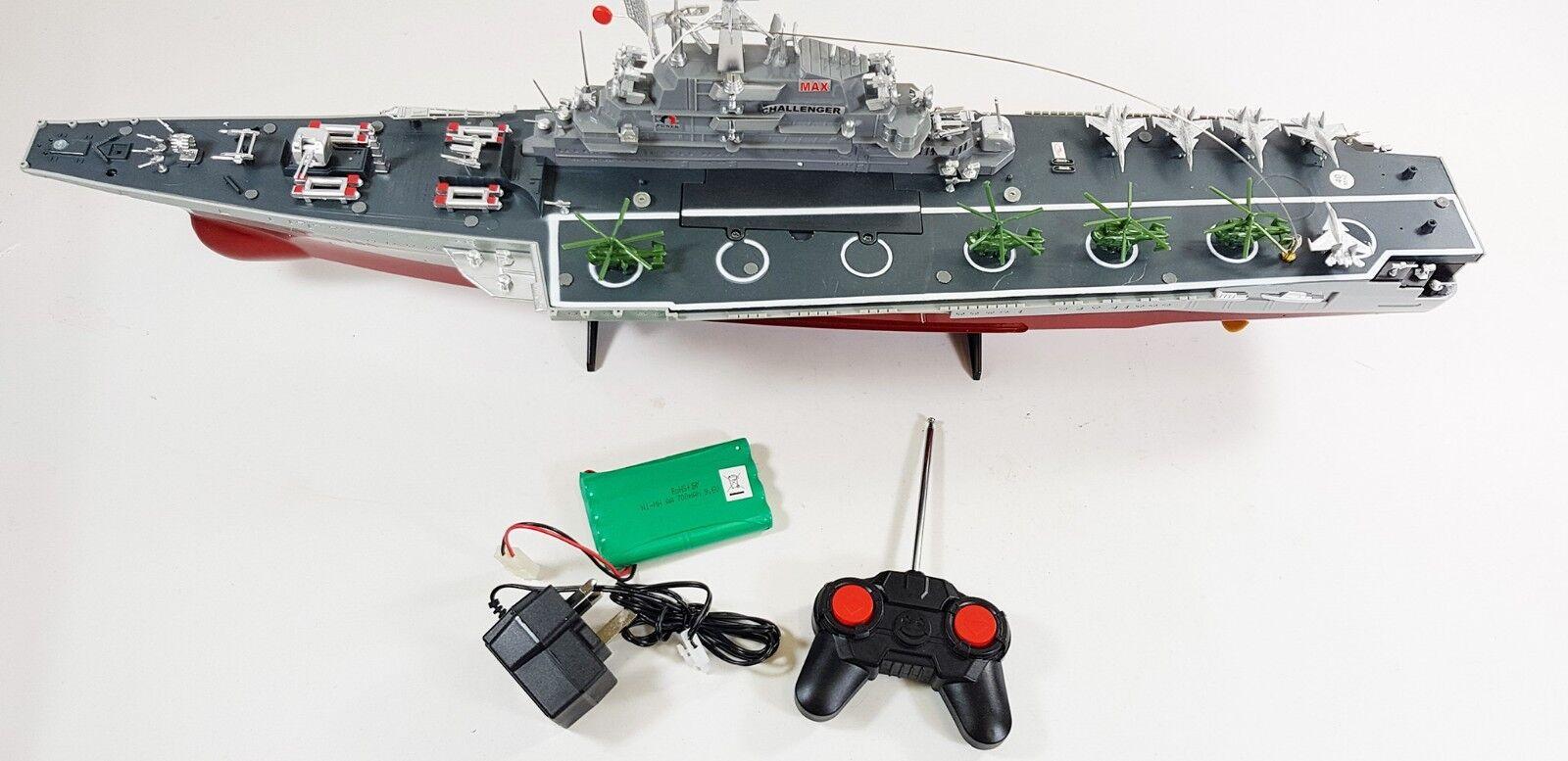 Venta De Navidad Reino Unido Radio Control Rc Modelo portaaviones barco de guerra Batalla barco de velocidad