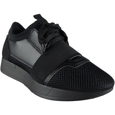 Firetrap Unisex Niños Savoy Zapatillas Negro EU 39 (UK 6) qZKdsQqu