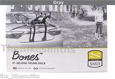 Saris BONES 2 Bike GRAY Car Trunk Rack Bicycle Carrier USA Lifetime Warranty 805