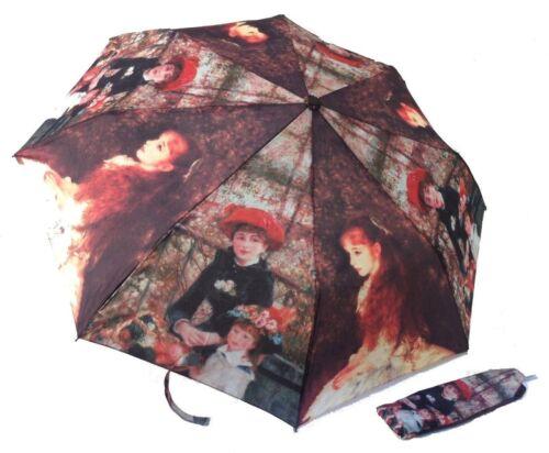 25/% parapluie Art Tableau Musée pliant auto Renoir avec étui 22,90€