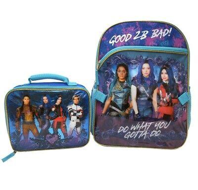 Disney Descendants 3 Good 2 Be Bad 16 Backpack Lunch Box What You Gotta Do Ebay