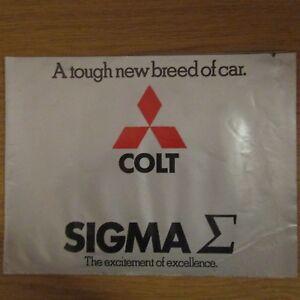 MITSUBISHI COLT SIGMA 1600GLAT 2000 GLXAT UK Market  Brochure 1976 - Lincolnshire, United Kingdom - MITSUBISHI COLT SIGMA 1600GLAT 2000 GLXAT UK Market  Brochure 1976 - Lincolnshire, United Kingdom