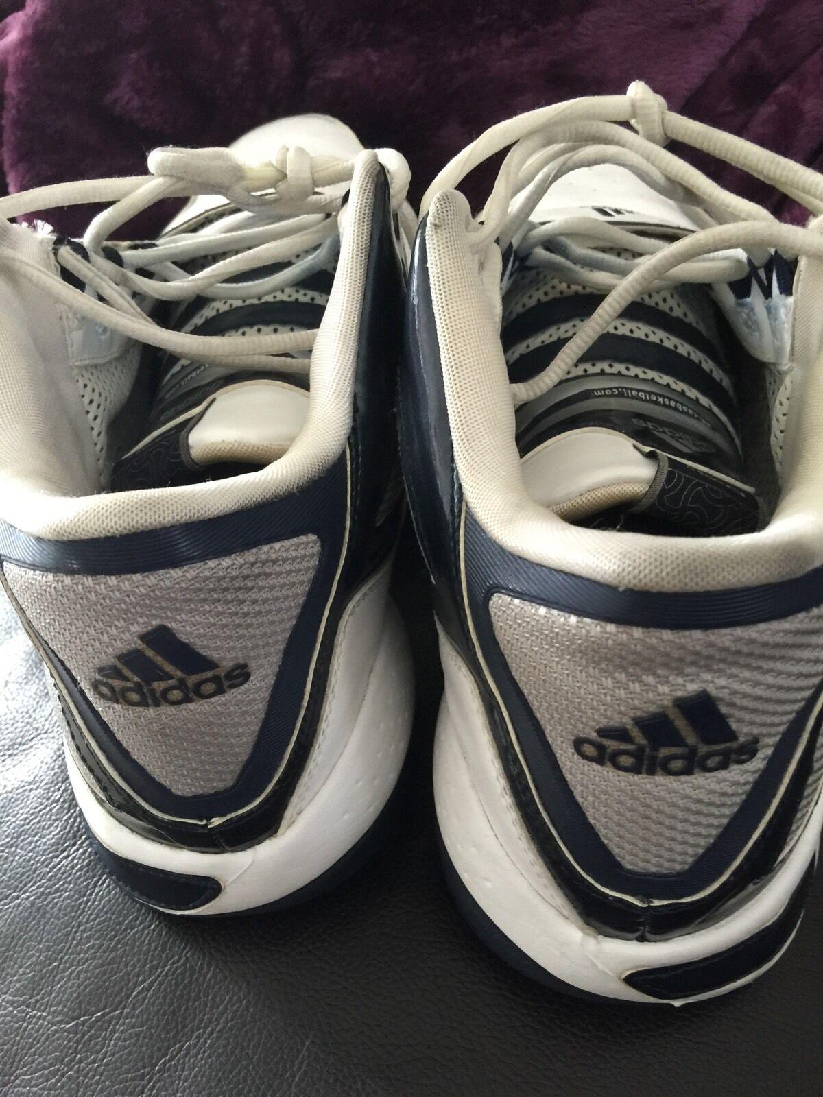 adidas pilrahna / 4 größe 12 wht / blau / pilrahna gry jahrgang rar! 22d6da