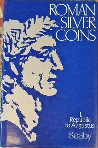 Roman silver coins I. Republic to Augustus, Seaby 1978 catalogus catalogue