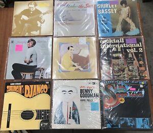 Vintage-Lp-Vinyl-Record-Jazz-Soul-Django-Benny-Goodman-Cole-Porter-Glen-Miller