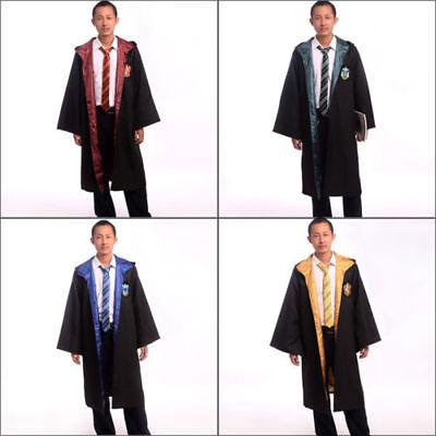 Vestito Mantello Cosplay Harry Potter Grifondoro Serpeverde Corvonero Tassorosso