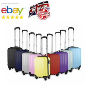 Small-4-Wheel-Suitcase-Travel-Cabin-Bag-Carry-On-Hard-Case-Hand-Luggage