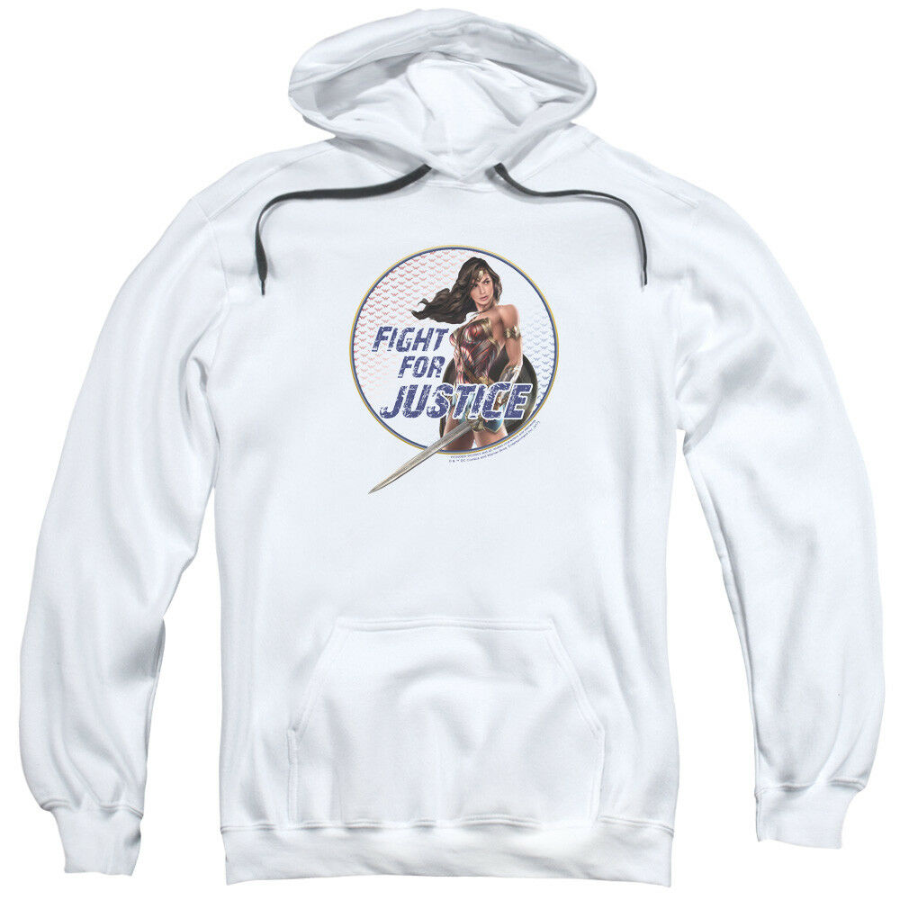 Wonder Woman Movie Fight For Justice Pullover Hoodies for Men or Kids