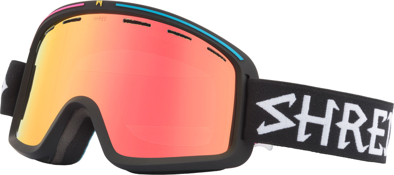 Shred Skibrille Snowboardbrille black Monocle Shrasta AntiFog Lens™