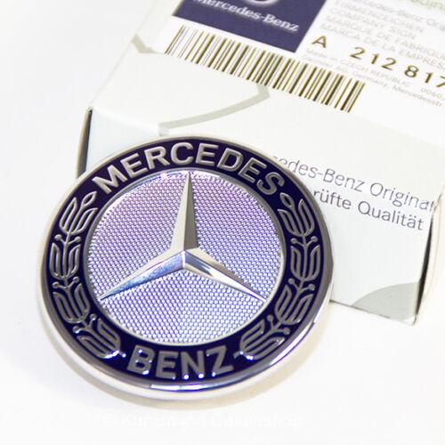 Original Mercedes-Benz emblema con estrella capó w205 w212 a2128170316 nuevo