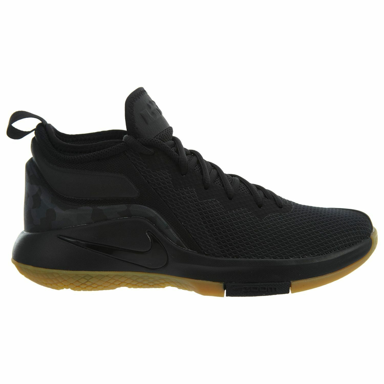Nike Lebron Witness II Mens 942518-020 Black Gum Basketball Shoes Size 8