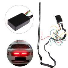48 SMD 5050 LED RGB Scanner Flash Car Strobe Remote Knight Rider Light Strip
