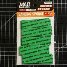 Madworks SP3-600 3mm Model Sanding Sponge #600 600 Grit 2cm x 7cm 10pc