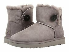item 3 Women's Shoes UGG Mini Bailey Button II Boots 1016422 Grey *New* -Women's Shoes UGG Mini Bailey Button II Boots 1016422 Grey *New*