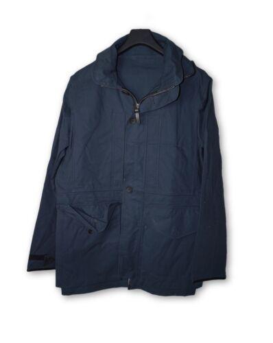 Louis Vuitton Navy Blue Hooded Field Jacket 54