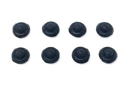 GENUINE WHIRLPOOL HOB RUBBER FEET PACK OF 8 P//N 481946818388 1ST CLASS POST