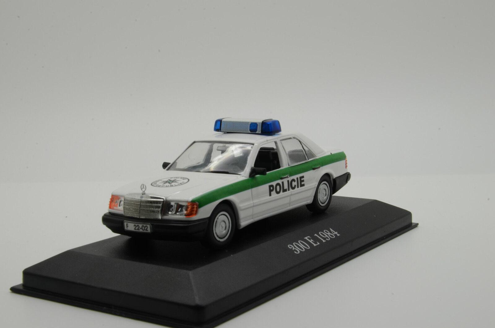 Rara Mercedes 300 e 1984 policía POLICIE República Checa Hecho a Medida 1 43