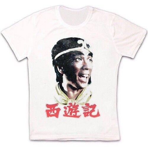 Monkey Magic Journey To The West Rétro Vintage Hipster Unisexe T Shirt 592