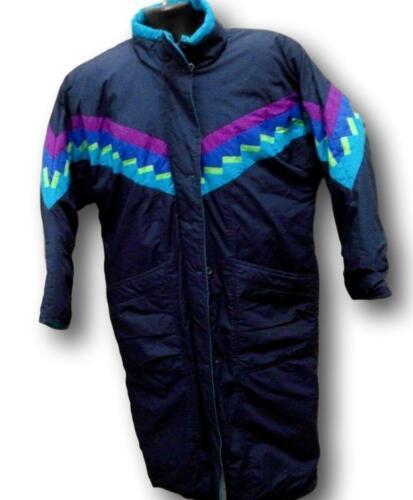 London Fog Coat size XL Womens Dark Blue Full Leng
