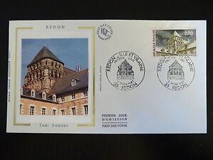 DéSintéRessé France Premier Jour Fdc Yvert 2462 Redon Ile Et Vilaine 2,20f Redon 1987