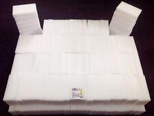 """200 BULK PACK Magic Sponge Eraser Melamine Cleaning Foam 3/4"""" Thick USA Seller"""