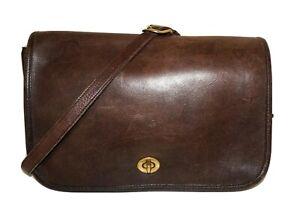 1980-039-s-Vintage-COACH-Brown-Leather-LEGACY-7-034-x-11-034-Crossbody-Shoulder-Bag-1114