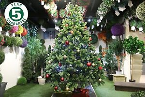 image is loading best artificial premium 7ft realistic christmas tree indoor