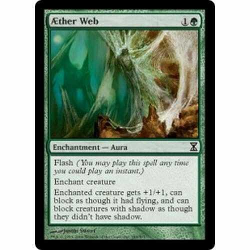 Aether Web MTG TIME SPIRAL