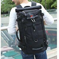 Laptop Computer Backpack For 17 Inch Black Notebook School Travel Bag Case Mens