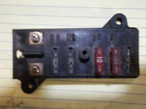 86 suzuki vs700 intruder oem fuse box holder fuses assy. Black Bedroom Furniture Sets. Home Design Ideas
