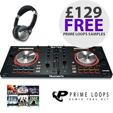 Numark Mixtrack Pro 3 USB DJ Controller 2-Channel Serato Mixing inc Headphones