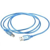 Generic 6ft Usb Printer Cable Cord Lead For Hp Envy 4500 Wireless Connector Wire