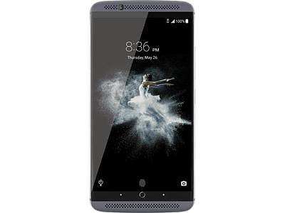 "ZTE AXON 7 64GB 4G LTE Quartz Gray Dual SIM Unlocked Smartphone 5.5"" 4GB RAM (No"