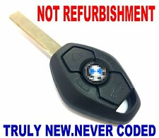 BRAND NEW UNCODED CHIP KEYLESS ENTRY REMOTE TRANSMITTER FOB COMPLETE KEY OEM E6