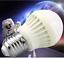 thumbnail 1 - LOT E27 3W LED Globe Bulb SMD Energy Saving Light DC12V AC110V AC220V AC245V