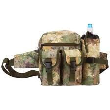 BIG Camo Water Repellent FANNY PACK Camouflage Hunting  Waist Belt Bag LUWBXLTC