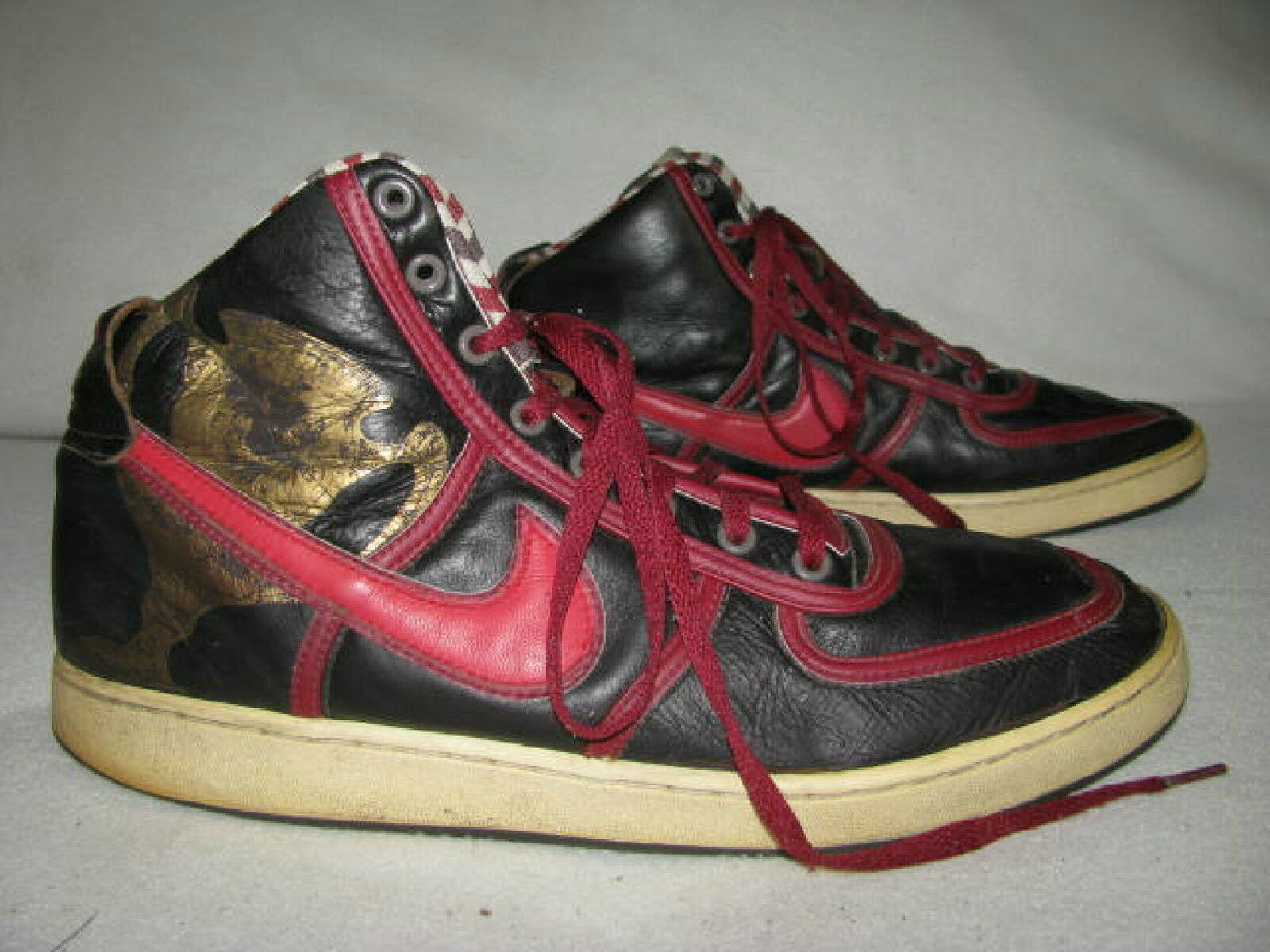 NIKE Vandal High Red Premium Sneakers Sz 13 Red High Black 315060-261 Black Fives Edition 1d1dc7