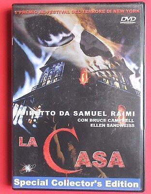 dvd film horror movie la casa evil dead special collector's edition samuel raimi