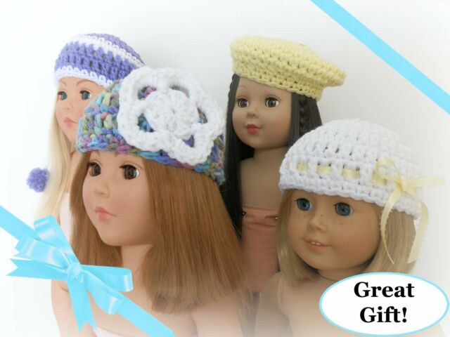 Set of 4 Spring Hats 18 inch Dolls American Girl My Life As Our Generation NEW