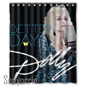 New Dolly Parton Better Day Country Music Custom Shower Curtains 60x72 Inch