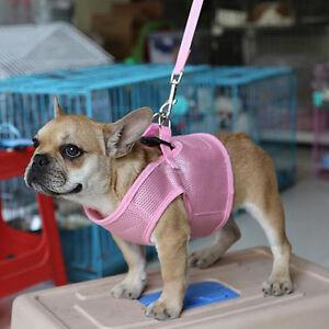 Pet-Puppy-Dog-Soft-Mesh-Cloth-Walking-Collar-Strap-Vest-Harness-Apparel-Grac