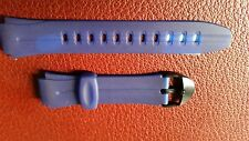 WATCH BAND BRACELET MONTRE  PVC******BLEU***** 16à22mm***REF KU 47