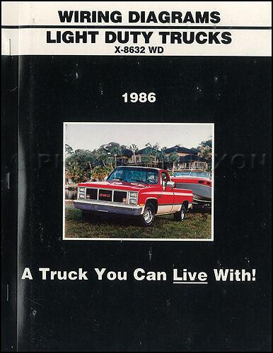 1986 Gmc Ck Wiring Diagram Pickup Truck Sierra Suburban
